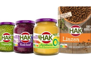 Groentefabrikant HAK voert als eerste in Nederland Nutri-Score-logo
