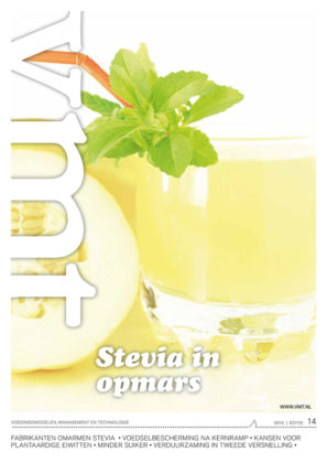 Stevia in opmars