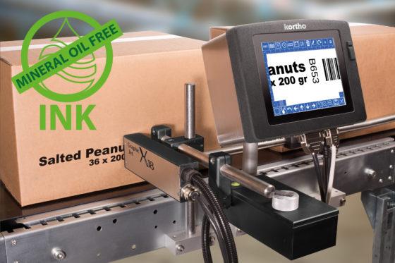 Mineraalolie vrije inkt (MOSH-MOAH) voor Kortho GraphicJet High-Res inkjet
