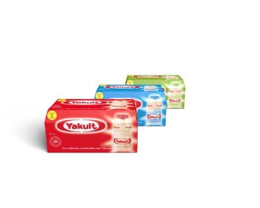 Yakult introduceert nieuwe verpakking