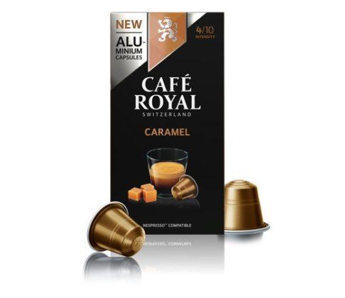 Café Royal maakt nu aluminiumcapsules voor Nespressomachines