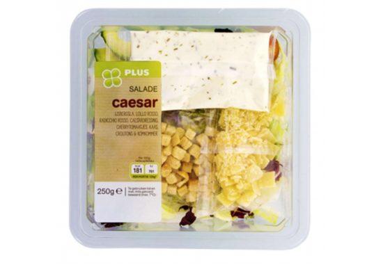 PLUS waarschuwt voor allergenen in ceasar salade