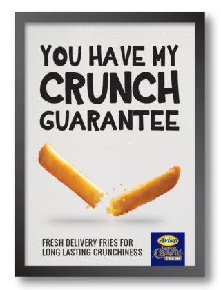 Aviko lanceert SuperCrunch Fresh friet die knapperig blijft