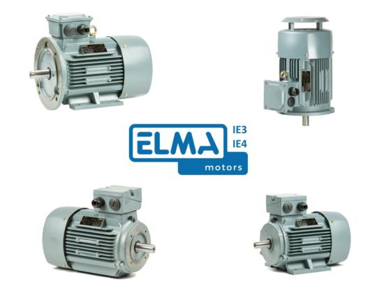 Elma Motors voegt duizendtal IE3 en  IE4 motoren toe aan webshop