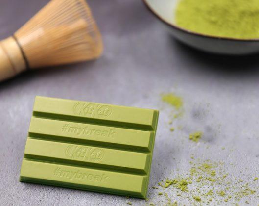 Nestlé past smaak KitKat Green Tea Matcha aan op Europese markt