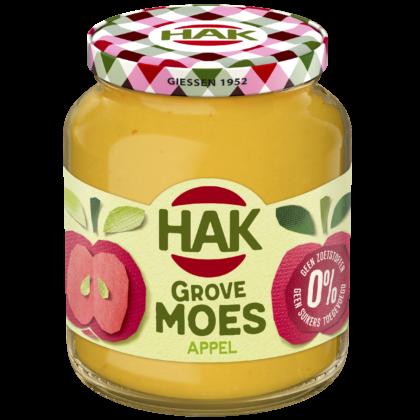HAK introduceert grove appelmoes zonder toegevoegde suikers