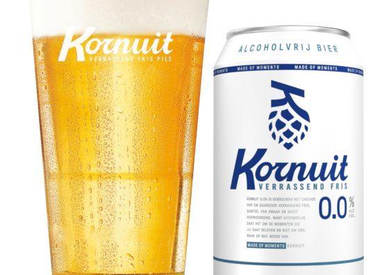 Grolsch maakt ook alcoholvrije versie van Kornuit