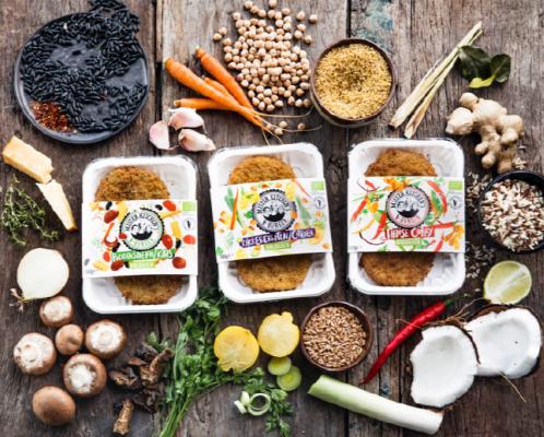 Mister Kitchen lanceert drietal biologische V-Burgers