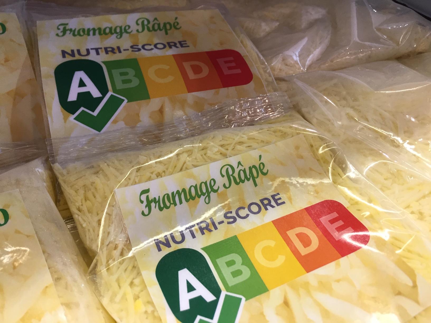 Nutri-score label kaas