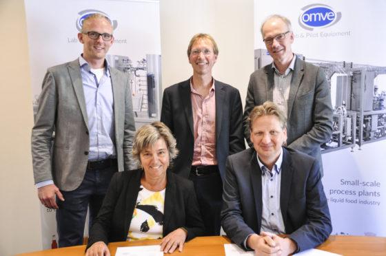 Voedingsinnovatiecentrum FACT strikt sauzenfabrikant Oliehoorn