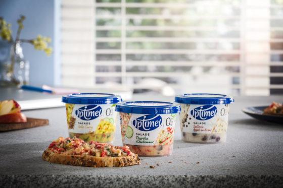 Zuivelbedrijf FrieslandCampina komt met Optimel salades in het schap (update)