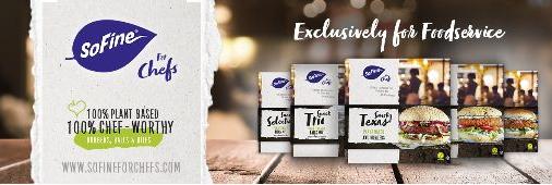 SoFine Foods lanceert nieuwe plantaardige productlijn