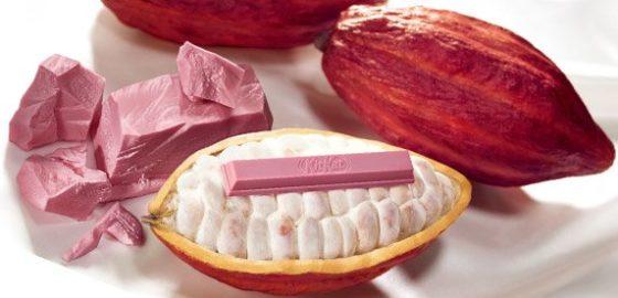 Roze Ruby chocolade vindt haar weg in KitKat