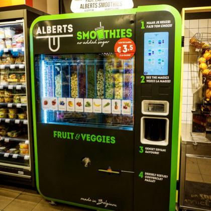 Belgische smoothie-automaat wint award in Londen