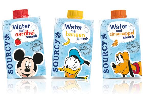 Sourcy lanceert water met fruitsmaak