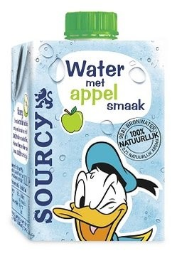 Nieuwe smaak Sourcy Water voor kinderen