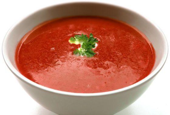 Questionmark: tomatensoep in de supermarkt gezonder dan voorheen
