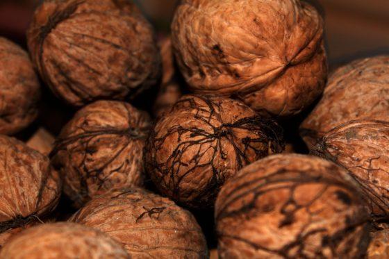 Abel´s Deli Groente Medley bevat walnoten