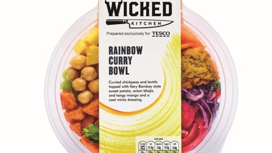 Ook Tesco speelt in op vegatrend met ontwikkeling van koelverse maaltijden