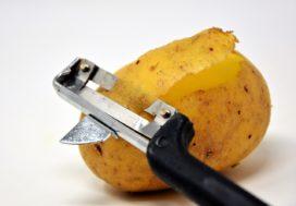 Van groene aardappels kun je ziek worden