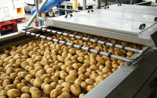 Картопты қайта өңдеуді қалпына келтіру