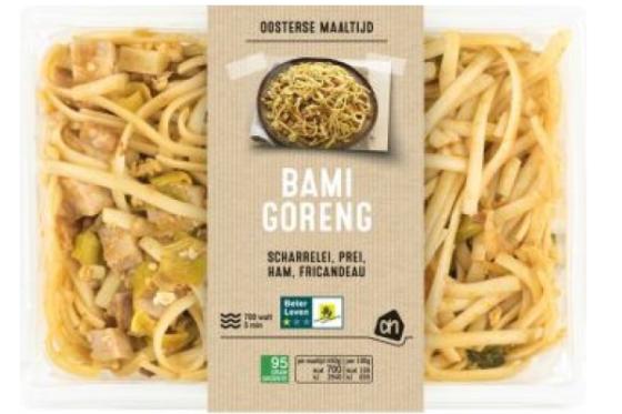 Albert Heijn haalt bami goreng uit het schap