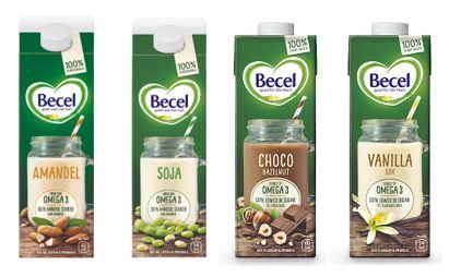Becel introduceert serie plantaardige dranken