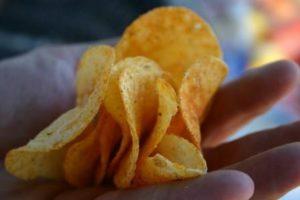 De textuur van vetarme chips verbeteren