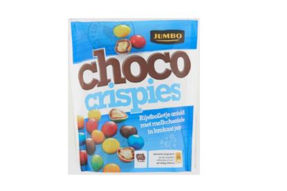 Jumbo roept chocolade crispies terug om allergenen