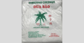 Ook geraspte kokos kan een uitbraak veroorzaken