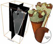 Diepvriesproducten bekijken in 3D
