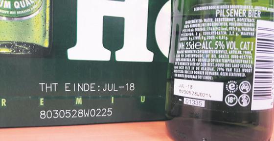 Heineken haalt aantal dozen terug vanwege kans op flesbreuk