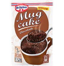 Recall Dr. Oetker mug cake chocolade vanwege salmonella