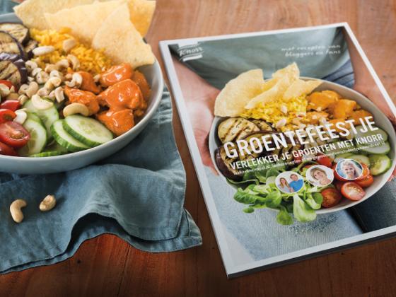 Unilever en Foodlab lanceren Knorr-receptenboek Groentefeestje