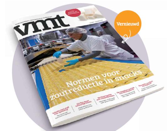 Vernieuwde VMT: Herformuleren focust vooral op suikerreductie