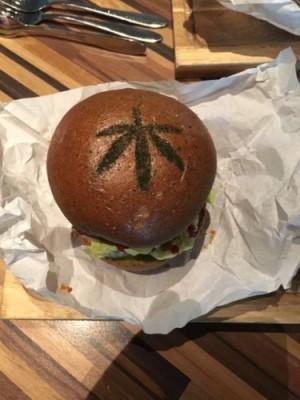 Ter Masch & Co introduceert de Cannabis Burger