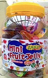 Jelly mini-cups met verstikkingsgevaar