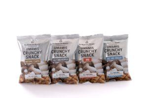 Start-up introduceert nieuwe lijn paddenstoelen als snacks