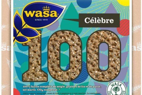 Wasa viert jubileum met knäckebrödvariatie die geen CO2-uitstoot
