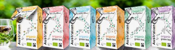 Australian introduceert biologische & Fairtrade thee