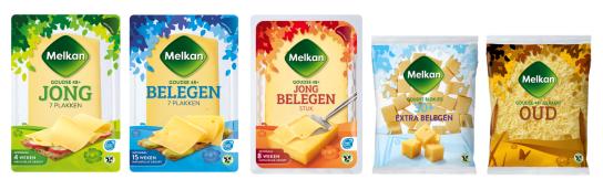 Melkan voegt kaas toe aan assortiment