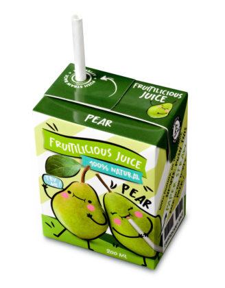Recyclebare papieren rietjes voor kleine drankverpakkingen