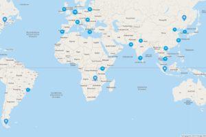 Producten van Albert Heijn op wereldkaart te vinden