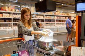 Colruyt test automatische herkenning van groenten en fruit