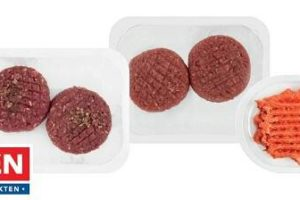 Supermarkt Deen roept vleesproducten terug