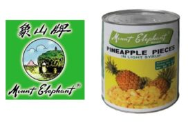 Recall ananasstukjes van Mount Elephant