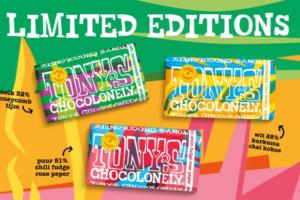 Limited edition Tony's: 'Onze nieuwe smaken zijn minder toegankelijk'