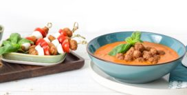 Schouten introduceert vegetarische soepballetjes