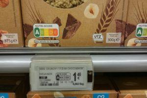 De Consumentenbond moedigt andermaal de invoering van Nutri-Score aan