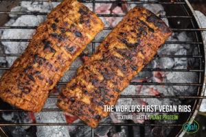 Ojah introduceert vegan spareribs op basis van erwten